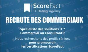 ScoreFact Recrute Commerciaux