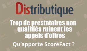 ScoreFact Distributique