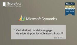 Microsoft parle de ScoreFact