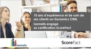 Ixemelis s'engage ScoreFact