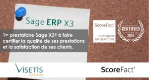 Visetis Certifié ScoreFact sage XE Enterprise Business Management