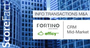 Efficy fortino M&A CRM